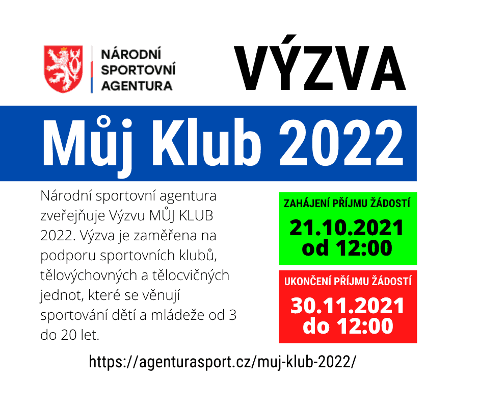 NSA - Můj Klub 2022
